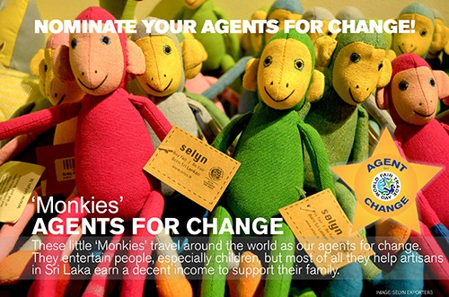 Agent for Change Selyn Monkies, Selyn Exporters