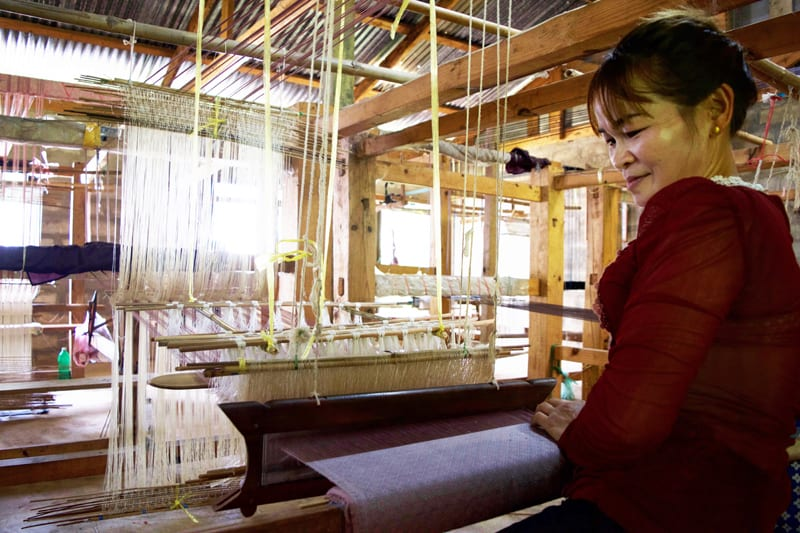 Mulberries: Proud Producer of the First Fair Trade Silks in Laos