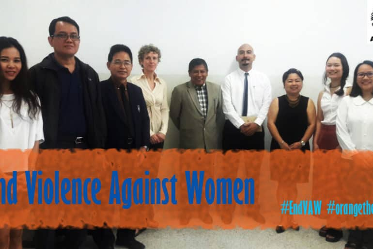 WFTO-Asia stands with women and girls around the world in fighting violence against women